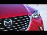 All-new Mazda CX-3 Sneak Peek 2015 Exterior Design in Soul Red | AutoMotoTV