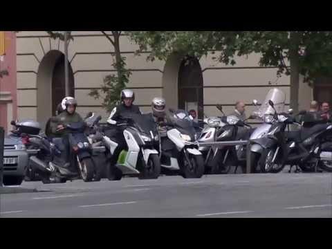 BMW Motorcycles – BMW C evolution | AutoMotoTV