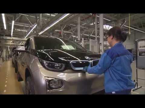 BMW Munich plant BMW i3   AutoMotoTV