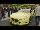 Concorso D'Eleganza Villa D'Este 2015 - BMW Motorrad Concept 101 and BMW 3.0 CSL | AutoMotoTV