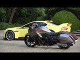 Concorso D'Eleganza Villa D'Este 2015 - BMW 3.0 CSL Hommage and BMW Mototrrad | AutoMotoTV