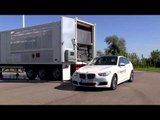 BMW Hydrogen Fuel Cell Electric Vehicle, filling up hydrogen storage tank | AutoMotoTV