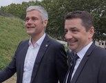 Info/Actu Loire Saint-Etienne - A la une : Laurent Wauquiez dans la loire avec 36m€ pour Saint-Etienne Métropole, la Ville aura notamment une patinoire flambant neuve en 2023.