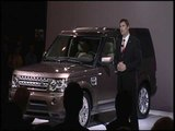 Range Rover, Range Rover Sport, and Land Rover LR4 at the 2009 New York International Auto Show