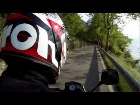 Husqvarna Strada 650. Riding scenes