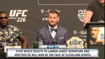 Is Stipe Miocic the face of Cleveland sports?