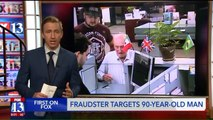 90-Year-Old Man Scammed Out of Thousands of Dollars by Fake Roofer