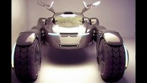 The concept of an electric car Citroen Taranis for driving in the desert