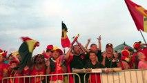 Brésil-Belgique: plus de 6.000 fans à Chimay