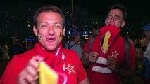 Belgas eufóricos por el triunfo, brasileños sufren eliminación