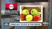 What to put and not to put in your fridge
