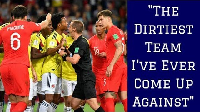 7 Dirtiest Teams at the 2018 World Cup