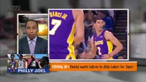 Stephen A. Smith explains why Lonzo Ball might be on the way out of Lakers | First Take | ESPN