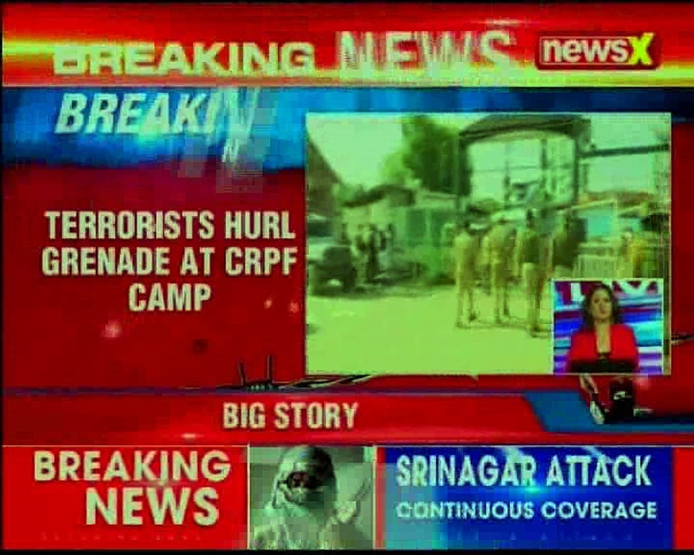 Jammu & Kashmir CRPF personnel injured in Hyderpora grenade attack