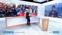Coupe du monde : les Bleus à la fête