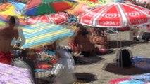 Zonguldak Kapuz Plajı Akdeniz Sahilleri'ni aratmadı