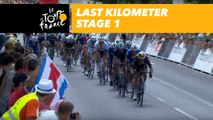 Last kilometer / Flamme rouge - Étape 1 / Stage 1 - Tour de France 2018