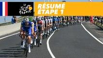 Résumé - Étape 1 - Tour de France 2018