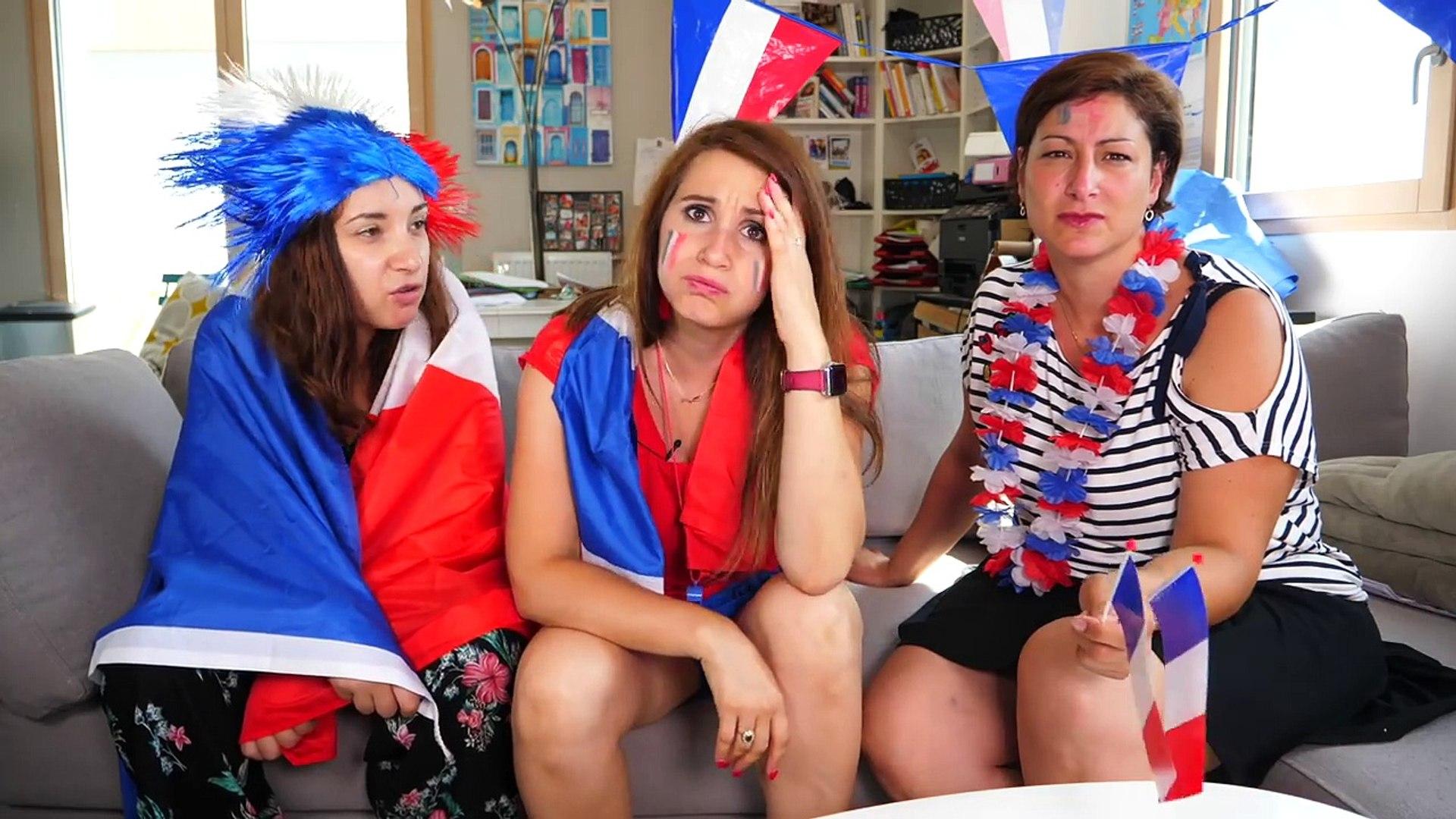 COUPE DU MONDE DE LA FIFA : ANGIE DÉLAISSE SON MEC POUR LE FOOT !! - ANGIE LA CRAZY SÉRIE