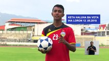 Here's another video from CNE Timor-Leste featuring Timorese athletes Jose Fonseca, Liliana da Costa, Emiliana Lopes, and Sandro Fame. Don't forget to vote on M