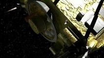 「はやぶさ2」タッチダウン想像図CG-'Hayabusa2' CG Animation