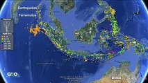 Terremotos y Tsunamis en Indonesia y Malasia / Earthquakes & Tsunamis [IGEO.TV]