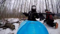 Best Documentary Winter Downhill Snow Kayaking - Pelican Pursuit 80x Kayak