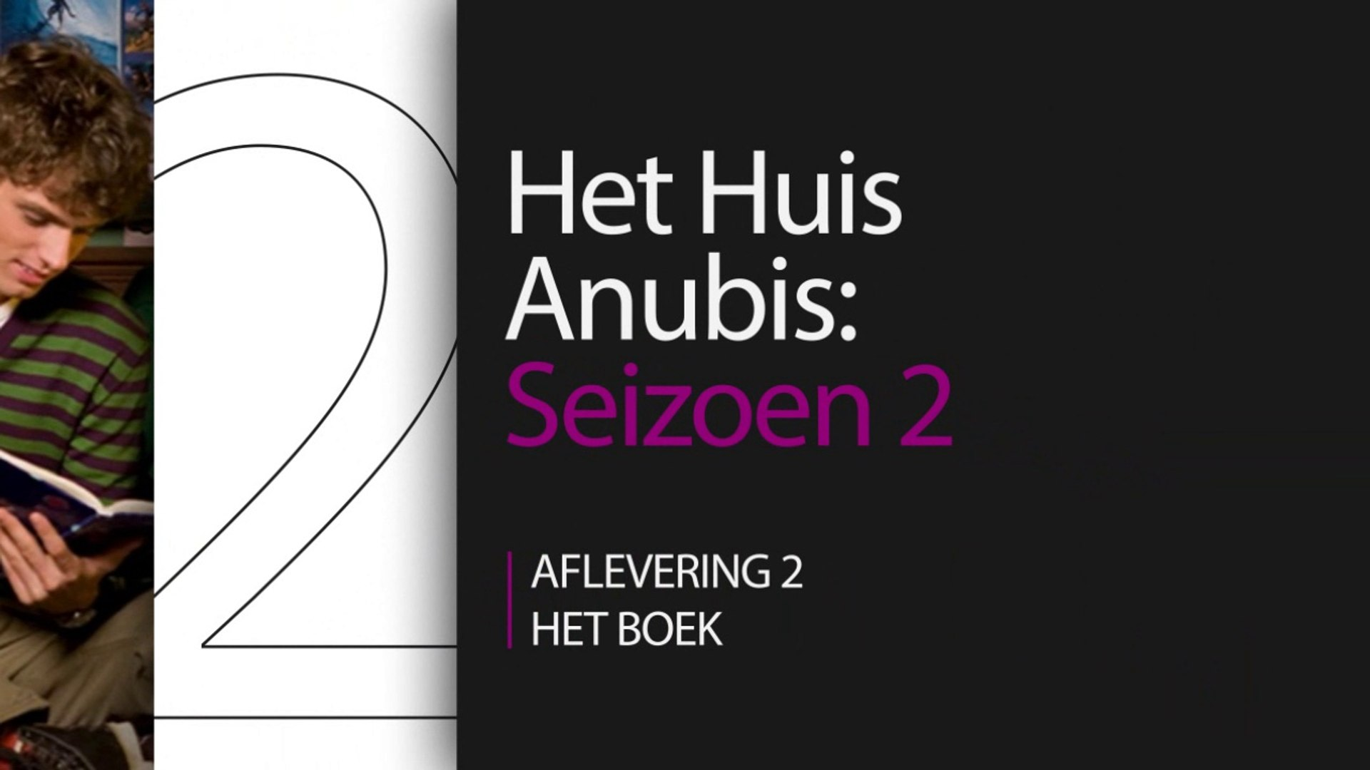 Het Huis Anubis - S02 E02 - Het boek