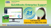 QuickBooks Enterprise Support- Get Instant Solution for Errors
