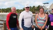 We absolutely love hearing from our guests! Alan just got back from diving at Tackle Box!