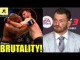 MMA Community Reacts to the Super Fíght Daniel Cormier vs Stipe Miocic,Cormier on Lesnar,Octagon