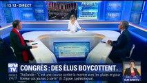 Congrès de Versailles : des élus boycottent