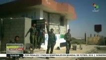 Siria: Ejército Árabe toma control de Nassib, frontera con Jordania