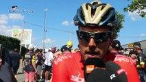 """Tour de France 2018 - Sonny Colbrelli 2e de la 2e étape : """"Je  félicite Peter Sagan pour sa victoire"""""""