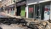 Après le violent incendie dans le centre historique