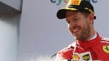 Sebastian Vettel Becomes British Grand Prix Champ