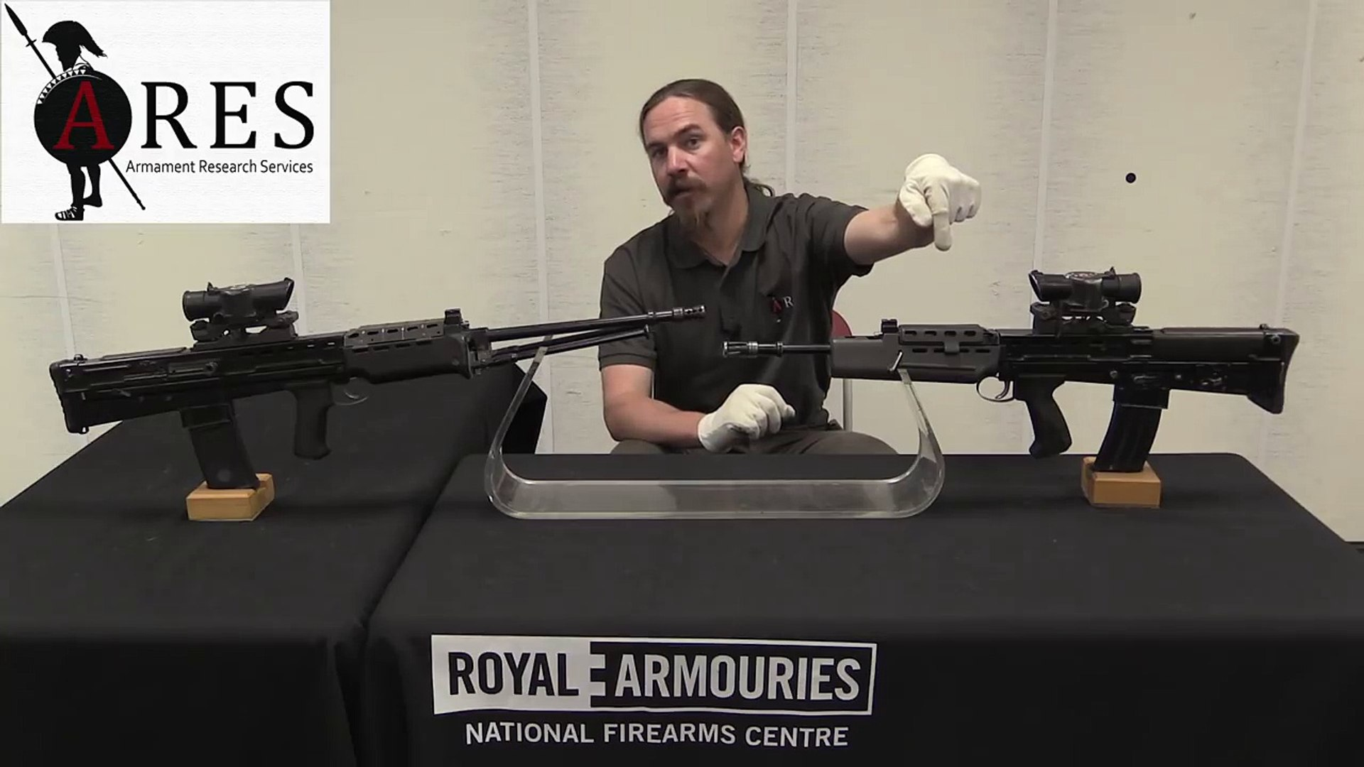 Forgotten Weapons - SA80 History - XL70 Series Final Prototypes (Individual Weapon and LSW)