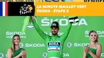 La minute Maillot Vert ŠKODA - Étape 2 - Tour de France 2018