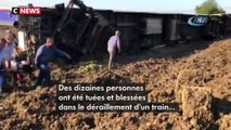 Turquie : plusieurs victimes dans le déraillement d'un train