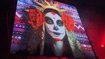 Samedi soir, le Mexicain Mandragora a produit un show d'électro trance très visuel