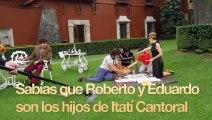 José José   Mira a los hijos de Itatí Cantoral actuando en la serie José José-