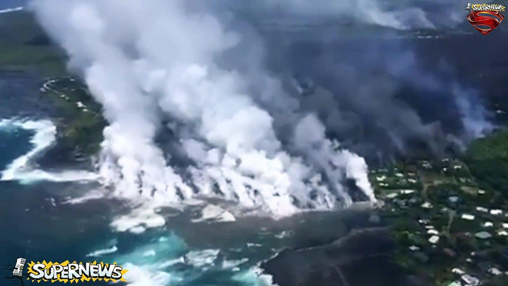 Hawaii volcano in numbers Kilauea buries TWO towns - 9,900 earthquakes hit Big Island