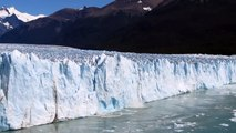 Melting ice at the glacier Perito Moreno in El Calafate