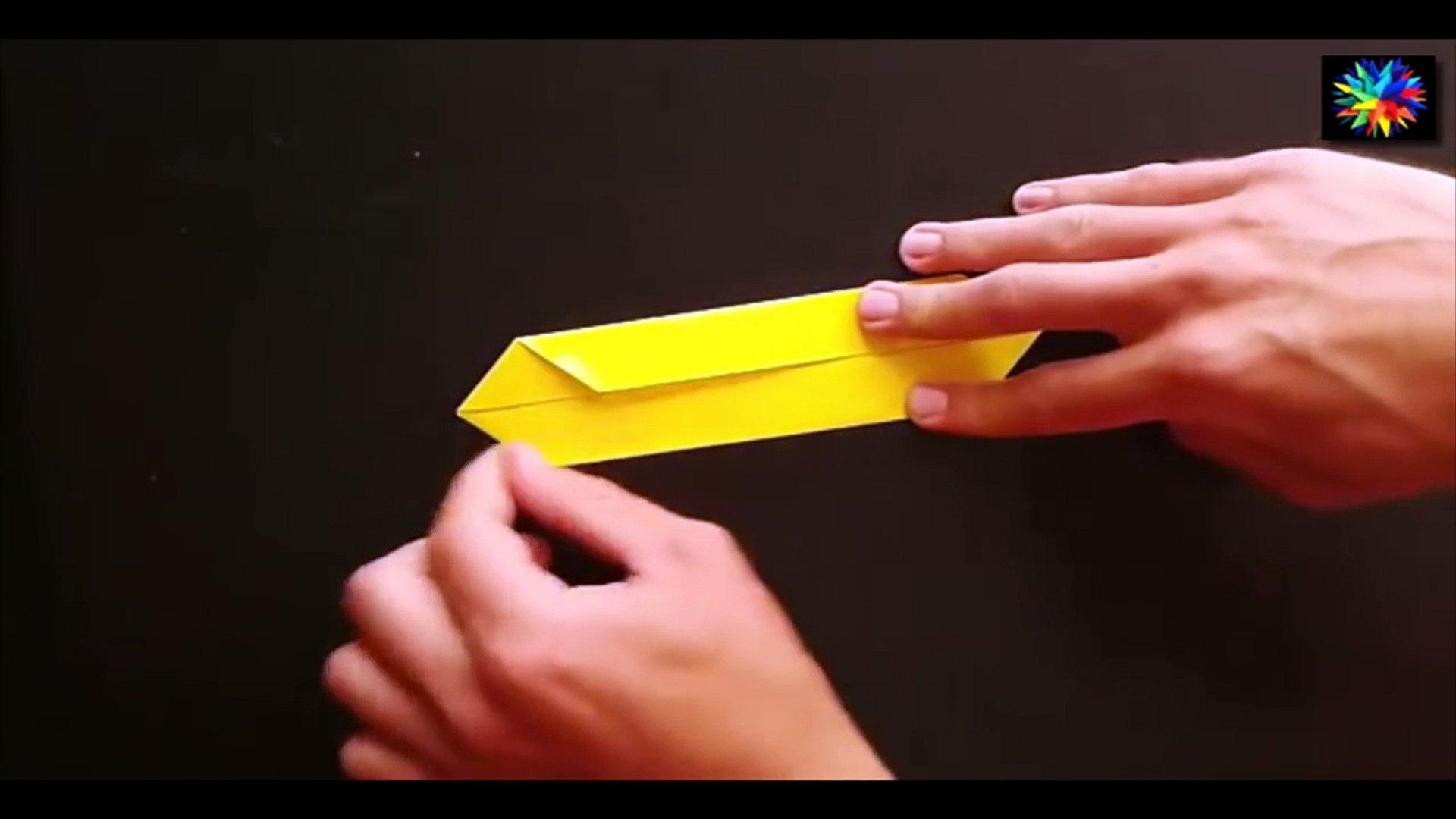 How to make a Paper Bow Origami / Как сделать Бабочку из бумаги Оригами  (2)