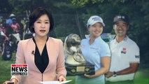 Korean golfers bag victories at LPGA and PGA events