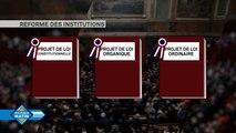 Réforme des institutions : le projet de loi de révision constitutionnelle arrive dans l'hémicycle