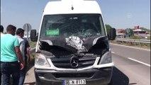 Minibüsün çarptığı yaya öldü - KARS