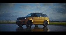Range Rover Sport SVR on the Jaguar Land Rover Fen End circuit