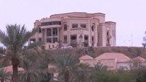 L'armée française forme l'armée irakienne dans le palais de Saddam Hussein
