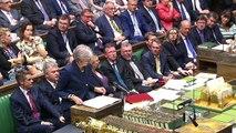 Theresa May thanks David Davis and Boris Johnson